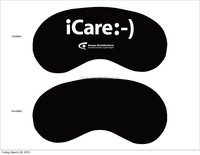 Custom OEM sleep and eye mask for promotional
