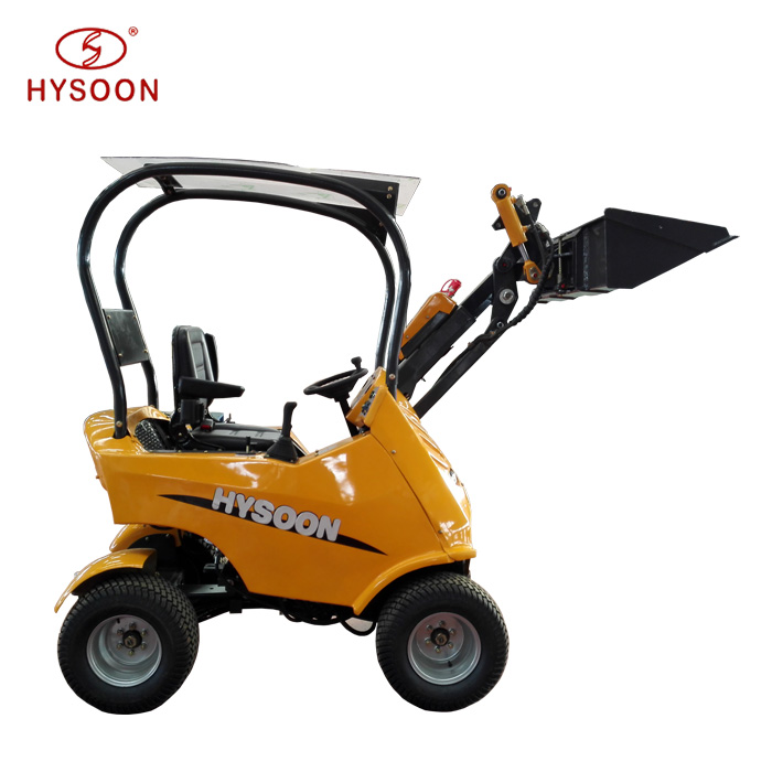 Mini farm machinery garden articulated mini wheel loader for sale