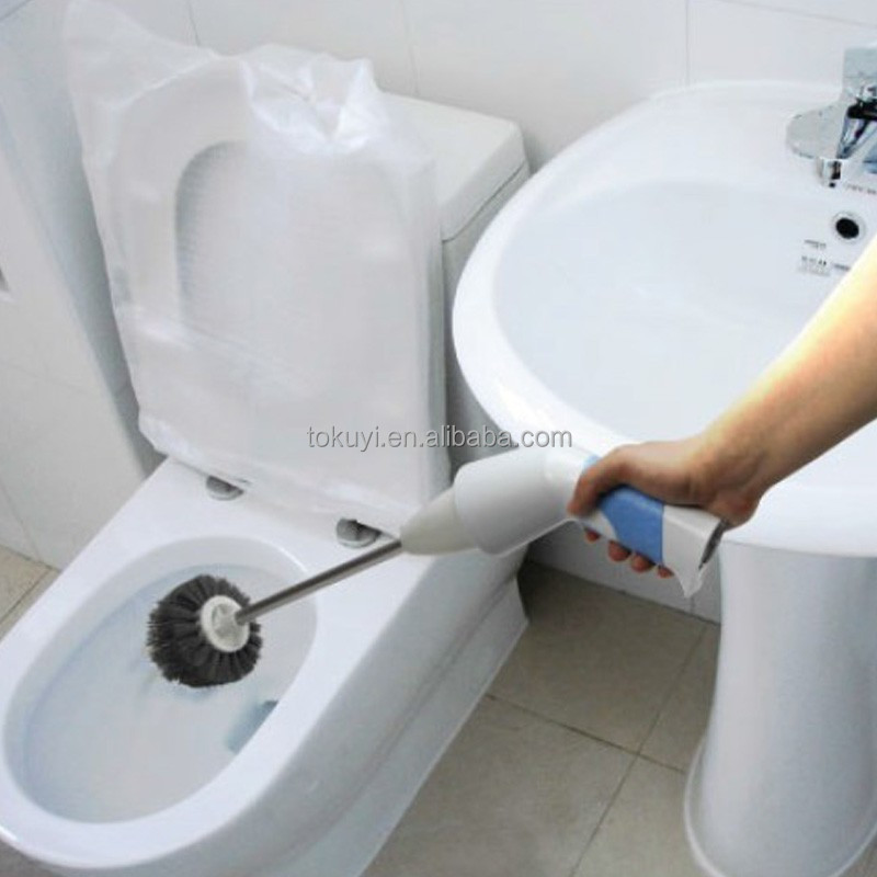 portable electric toilet cleaner toilet brush bathroom