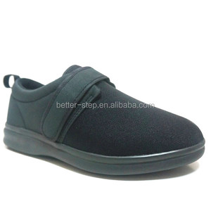 Hot Sell Suede Fashionable Medical Comfort Diabetic Shoes Men With CE Approved