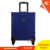 Professional train hair stylist trolley rolling leather cosmetic case, travel hair dressing/dresser makeup vanity case