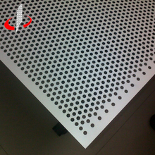1mm Hole Galvanized Stainless Steel Perforated Metal Mesh Sheet