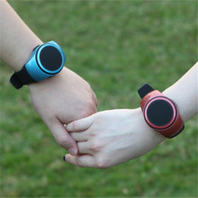 Wrist Watch Music Player, Bluetooth Wristband Speaker, MP3 Music Player Support Hands-free Call Self-timer
