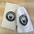 Wholesale cheap price canvas drawstring calico pouch