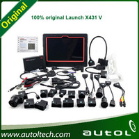 Whole sale LAUNCH X431 V(X431 5) Wifi Bluetooth Tablet Full System Diagnostic Tool Newest Generation With Big Promotion Price