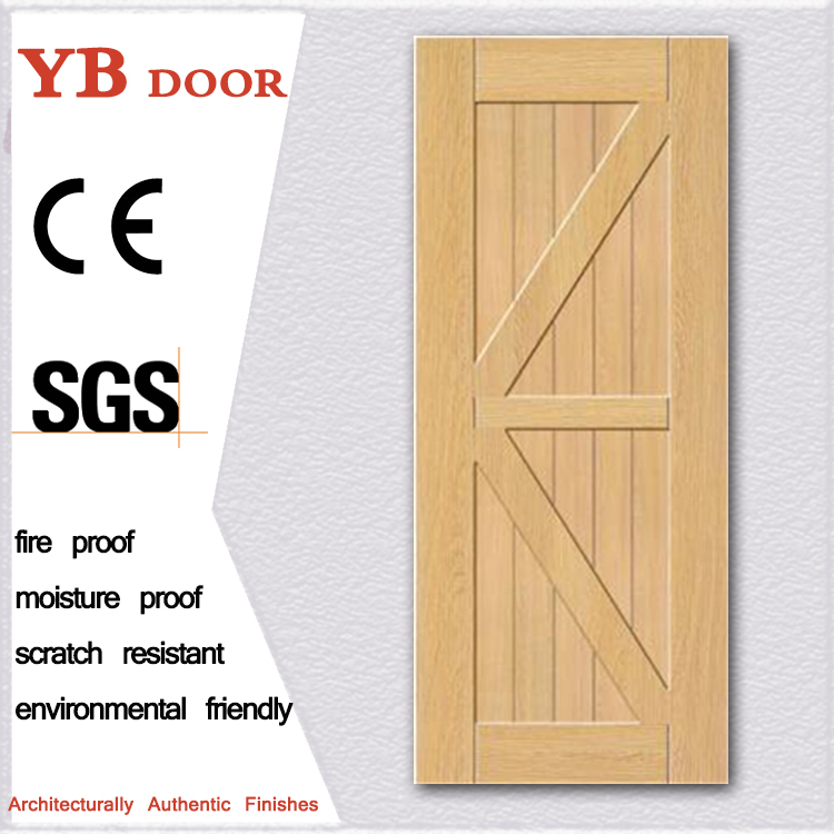 Alibaba Global Purchasing Festival office doors interier African Market pvc glass door Hot sell beech wood veneer door