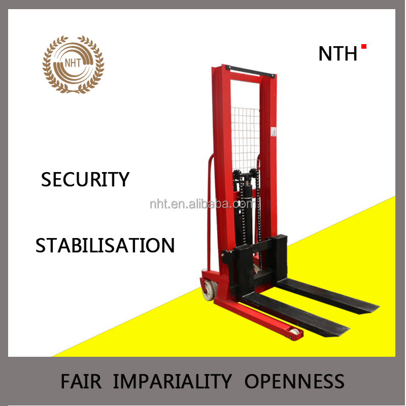 High Lift Hydraulic Pump Toyota Forklift Hand Pallet Truck with PU wheels for Sale