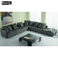 Modern luxury sectional sofa furniture