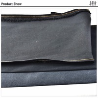For men / women jeans wholesale black gray organic cotton wholesale denim fabric