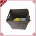 100% handmade rattan living room hotel clothes basket box rattan storage baskets