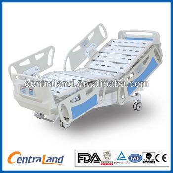 Deluxe Electrical Five Function electric ICU Bed with ACP/ ICU hospital bed