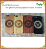 Free Sample Blank Wood pc Back Cover Mobile Phone Case For Iphone 6s samsung s6