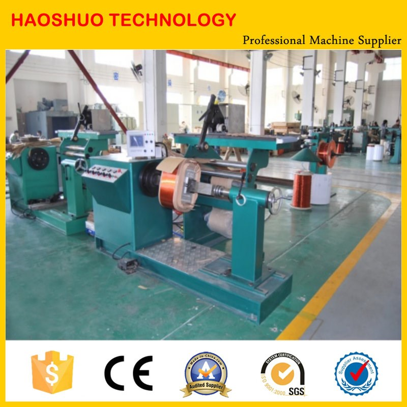 Transformer High voltage electric coil winding machine with Auto Guiding Device for Transformer Ht Coils