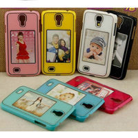 With photo showcase design PC hard case for Samsung galaxy S4 i9500