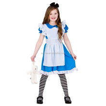 First-class grade girls alice in wonderland costumes for kids BC12324