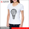 100% Cotton Short Sleeve With Pattern O-Neck Women Mind Maping Printing T shirt wholesale