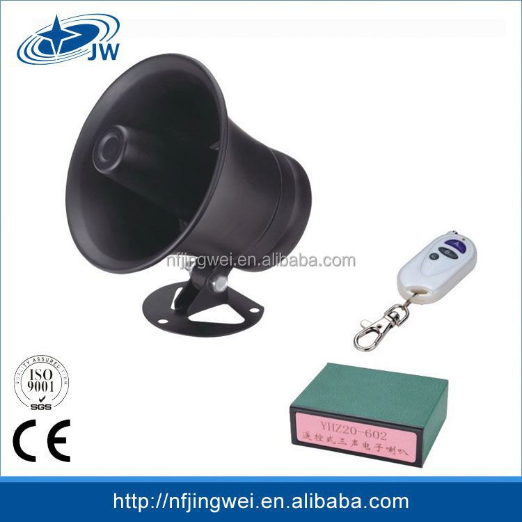 Widely Use Excellent Quality Universal 12v Plastic Speaker Horn