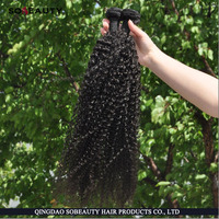 High Quality Factory Price Best Selling Cheap Human Tangle Free Unprocessed Virgin Wholesale Raw Peruvian Kinky Curly Hair