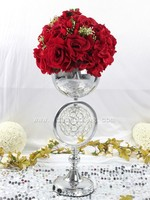 Flower stand wedding centerpeice cheap wedding decoration items for sale