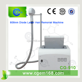 CG-910 808nm Diode laser machine for permanent hair removal skin rejuvenation