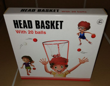 Catching Basketball Kid Game Head Strap Basket case Headband Basketball Hoop Games CBL7111