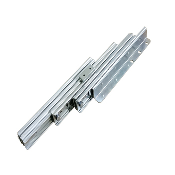 Steel ball bearing pull-out Folding Table Slide Mechanism