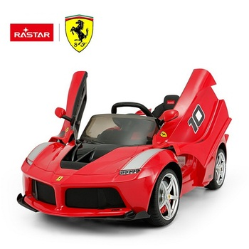 Rastar shopping toy LaFerrari Ferrari licensed wholesale ride on battery operated kids baby car