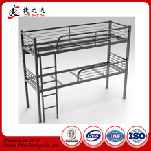 double wall bed wrought iron metal bed frame cheap bunk beds