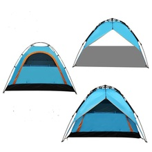 Outdoor camping tent Three methods to use tents Hydraulic automatic tent