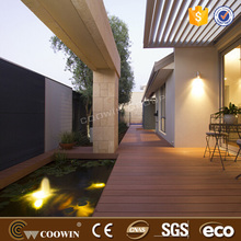 prefabricated houses fire-proof WPC decking price/tile flooring