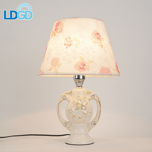 Langde Factory Sale Plastic Peacock Portable Luminaire Quran Rechargeable Cordless Table Lamp