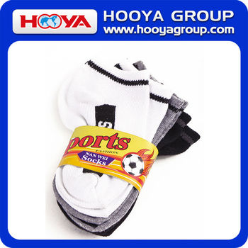 100% Cotton Children's Sport Invisible Sock