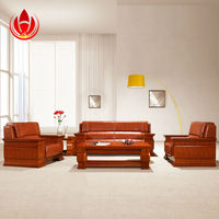 HY -S 938 Sectional fabric sofa with ottoman