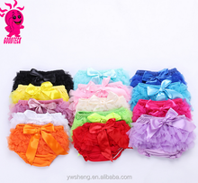 2017 tutu bloomers shorts baby underwear plain cotton ruffle panties bloomer