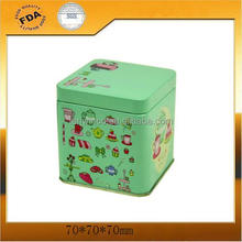 Metal Printed Square Tea Tin Boxes,Electronic equipment packaging