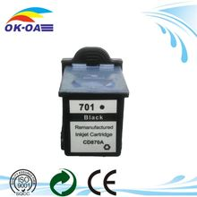 Wholesale shanghai Printing ink Cartridge for HP 701 cc635a HP 640 Fax