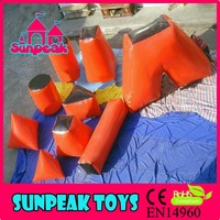 BK-026 Sunpeak Adult Outdoor Play Games Bunker Supply Inflatable Paintball