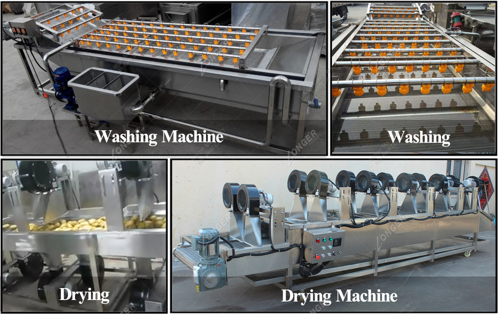 Industrial Automatic Palm Date Potato Cleaner Washer Apple Carrot Drying Production Line Fruit and Vegetable Washing Machine 2