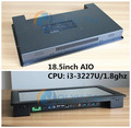 AIO Industrial PC USB WIN8 All In One PC 18.5Inch Touch Screen Computer