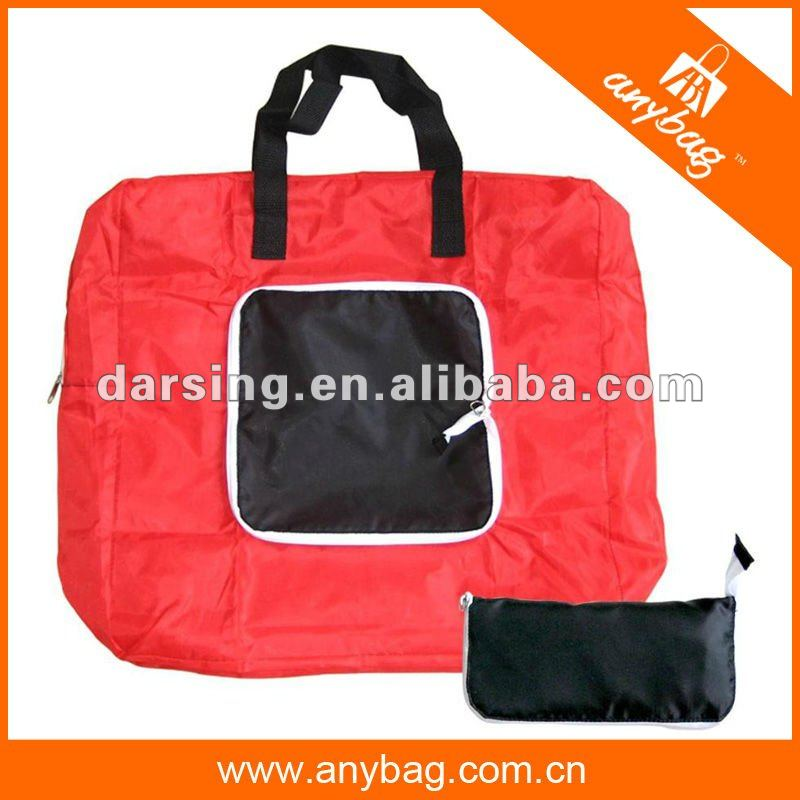 New design polyester folding shopping bag 2013