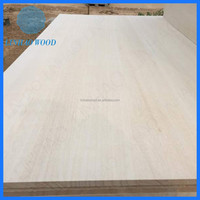 Paulownia Solid Outdoor Wood