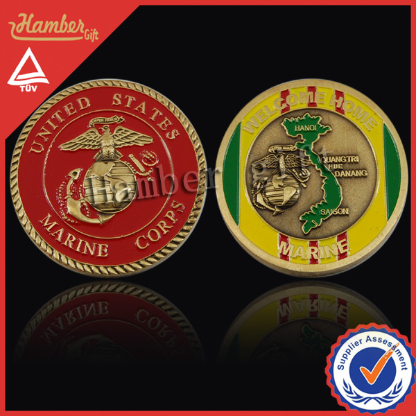Gift coin of US Marine corps