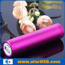 Portable External Battery power bank for smartPhone, Cellphone, MP3 etc