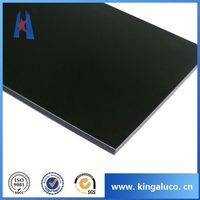 Composite aluminum panel lightweight building material