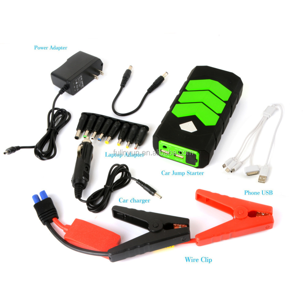 Best Selling Car Portable Jump Starter Charger Mini Power Bank 12000mah