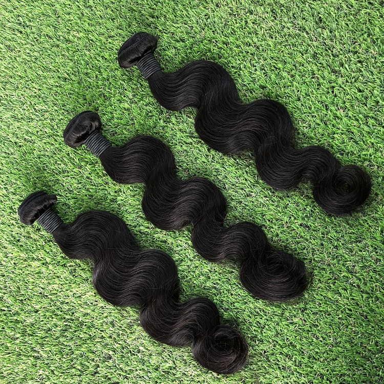 Factory direct supply body wave no chemical indian temple hair wholesale virgin hair