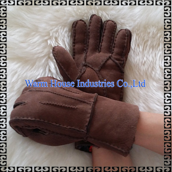 100% Double Face Leather Hand Gloves /Ladies Leather gloves /Cheap Leather Gloves