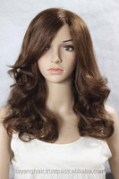 wholesale High Grade Cheap Synthetic Hair Wigs fiber for especially Fashion young girl