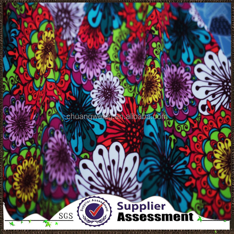 wholesale floral prints nylon spandex swimwear fabric