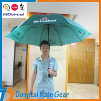 30 inch green large golf umbrella with fiberglass